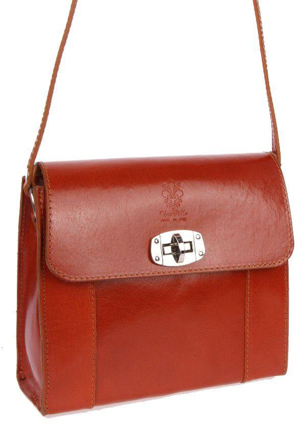 """Sehr edle Damenhandtasche aus hochwertigem """"echtem Leder"""". Die Handtasche ist innen mit einem Satin ähnlichem Stoff gearbeitet und hat seitlich ein Fach mit einem Reisverschluß. Die Tasche hat die Maße H 18 cm x B 7 cm x L 21 cm. Eine tolle Tasche für jeden Anlaß!!!"""