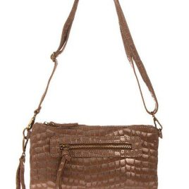 """sehr edle Damenhandtasche/ Clutch aus hochwertigem """"echtem Leder"""". Die Handtasche ist innen mit einem Satin ähnlichem Stoff gearbeitet und ist seitlich auf der Innenseite mit einem Reisverschluß versehen. Die Tasche hat die Maße H 14 cm x B 4 cm x L 27 cm. Eine tolle Tasche für jeden Anlaß!!!"""
