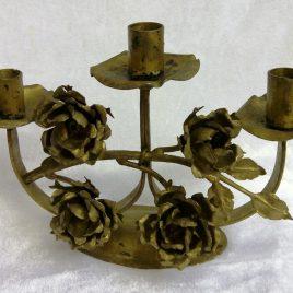 Antiker Kerzenständer für drei Kerzen